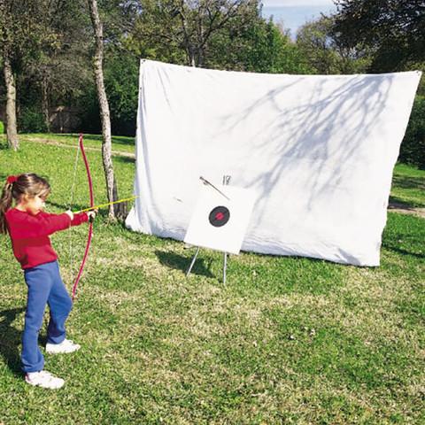 Pre-cut Indoor/Outdoor Archery Fine Mesh Netting - 36ft x 10ft