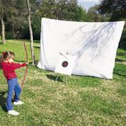 Pre-cut Indoor/Outdoor Archery Fine Mesh Netting - 50ft x 10ft