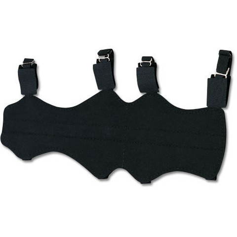 Archery Bow Armguard - 12-Inch Deluxe Vinyl Arm Protection
