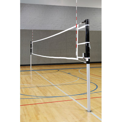 "3"" Steel/Aluminum Multi-Sport (Volleyball, Badminton, Pickleball, & Tennis) Net Complete Equipment Set"
