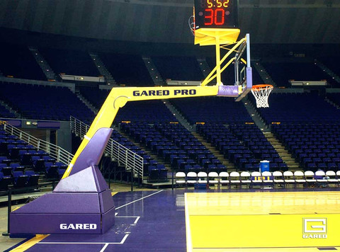 Gared Sports Pro H Professional Main Court Portable Basketball Goal