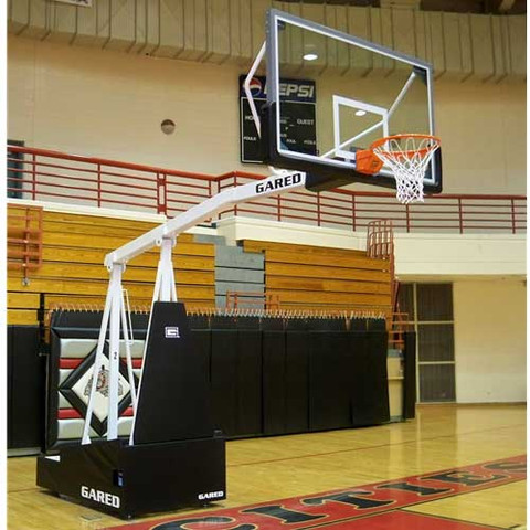 Gared Sports Hoopmaster 8 Portable Basketball Goal with 8-foot Extension
