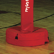 Stackhouse Red Padding for All Purpose Volleyball, Tetherball & Other Net Games Roll-Away Standard