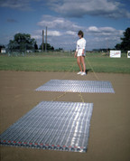 Baseball & Softball Infield Steel Mesh Drag Mat for Dirt Infield Grooming by Stackhouse