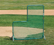 Baseball Pitcher's Safety Screen for Batting Practice to Protect a Live Pitcher or a Pitching Machine by Stackhouse