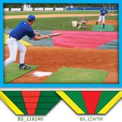Bunt Zone Infield Protector/Trainer-Lg