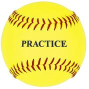 11'' Yellow Practice Softball