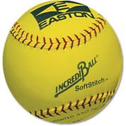 "Easton 12"" SoftStitch IncrediBall-Yellow"