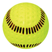 """Baden Seamed Machine Softball-12"""" Yellow"""