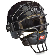 Adjustable Catcher's Helmet - Black