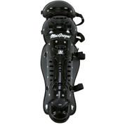 MacGregor B61 Dbl Knee Varsity Leg Guard - Scarlet