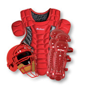 Junior Catcher's Gear Pack - Scarlet
