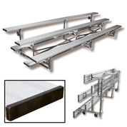 4 Row 8' Tip n' Roll Bleacher (seats 20) -