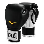 Pro Style Boxing Gloves-Black 14oz