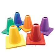 "Game Cones - 6"" - Yellow"