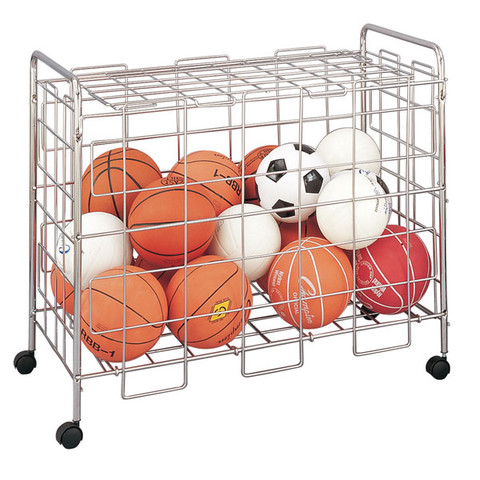 Large Volume Portable Ball Locker with Steel Construction