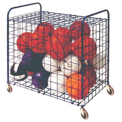 Lockable Ball Storage Locker for Up To 24 Basketballs
