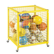 Half Size Locking Ball Storage Locker