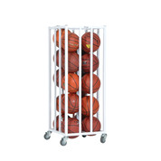 Vertical Ball Cage for up to 20 Basketballs