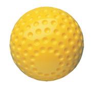 Yellow Dimple Pitching Machine Baseball
