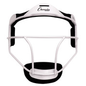 White Adult Softball Fielder's Face Mask