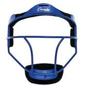 Blue Adult Softball Fielder's Face Mask