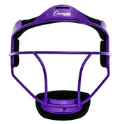 Purple Youth Softball Fielder's Face Mask