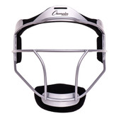 Silver Youth Softball Fielder's Face Mask