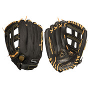 """Baseball and Softball Leather and Nylon Glove  - Full Right - 13"""""""