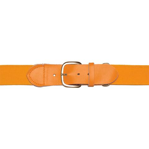 """Gold Adjustable Adult Baseball Uniform Belt - Size 22""""- 46"""""""