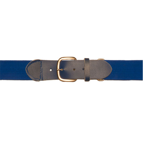 "Blue Adjustable Youth Baseball Uniform Belt - Size 18"" - 32"""