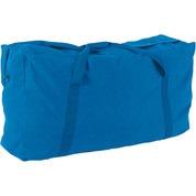 Royal Blue Oversized Canvas Zippered Duffle Bag 42-Inch 22 oz.