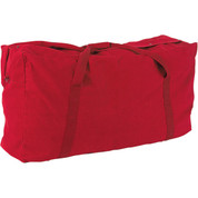 Red Oversized Canvas Zippered Duffle Bag 42-Inch 22 oz.