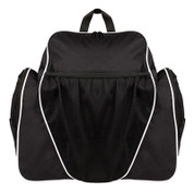 Black 600D Polyester Deluxe All Purpose Backpack
