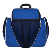Royal Blue 600D Polyester Deluxe All Purpose Backpack