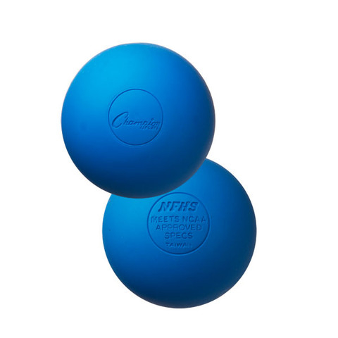 Blue Official Lacrosse Ball - NCAA Approved