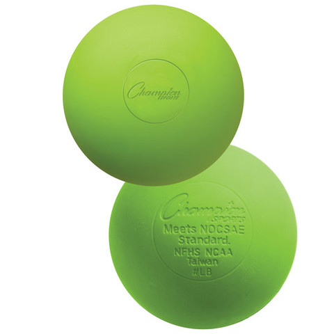 Green Official Lacrosse Ball - NCAA Approved