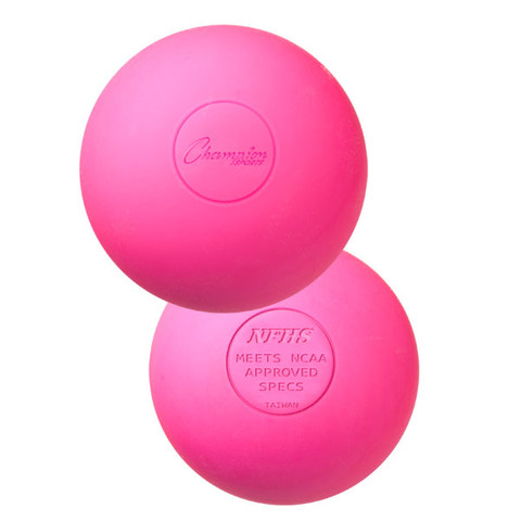 Pink Official Lacrosse Ball - NCAA Approved