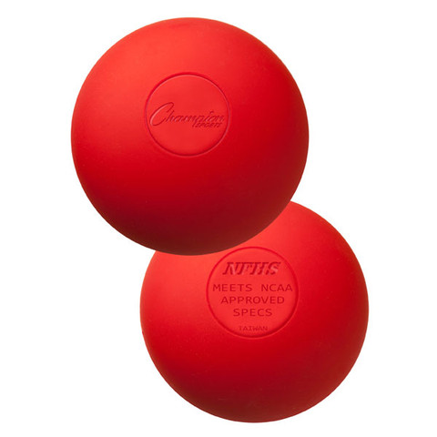 Red Official Lacrosse Ball - NCAA Approved
