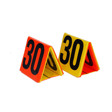 Day-Night Sideline Football Yard Marker Set