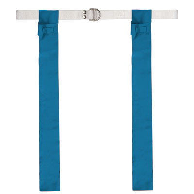 Royal Blue Velcro Flag Football Belt Set of 12