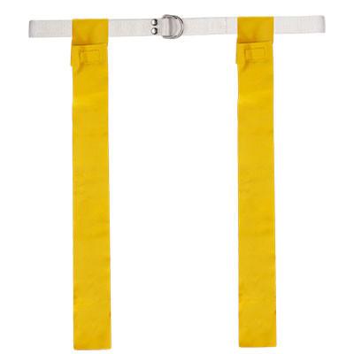 Yellow Velcro Flag Football Belt Set of 12