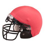Red Nylon Stretch Football Helmet Cover