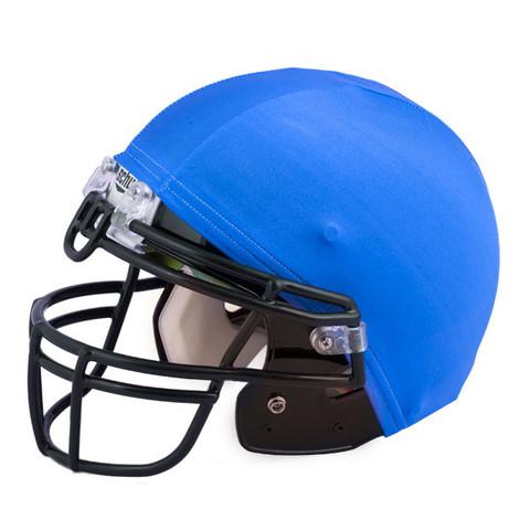 Royal Blue Nylon Stretch Football Helmet Cover