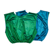 Reversible Nylon Micro Mesh Scrimmage Pinnie Vest Blue/Green