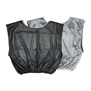 Reversible Nylon Micro Mesh Scrimmage Pinnie Vest Black/White
