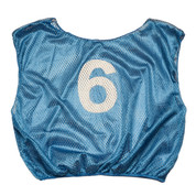 Practice Adult Numbered Scrimmage Vest - Royal Blue