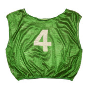 Practice Adult Numbered Adult Scrimmage Vest - Green