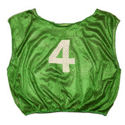Practice Youth Numbered Youth Scrimmage Vest - Green