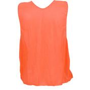 Youth Nylon Micro Mesh Practice Vest - Orange